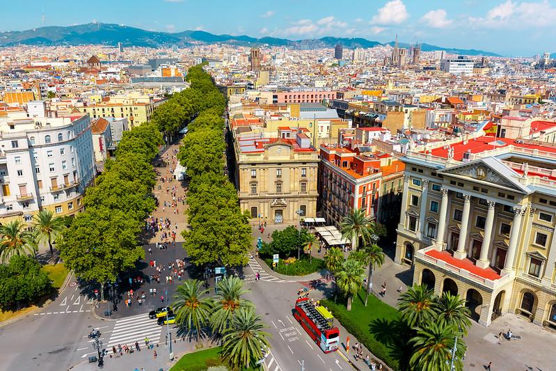 Barcelona - Opern und Konzerthäuser der Stadt