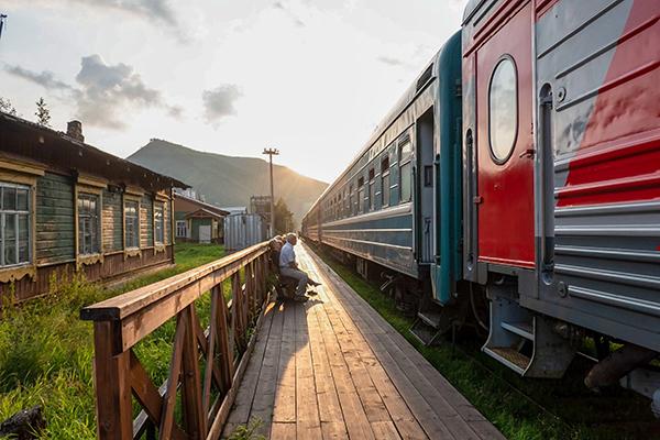 Reisen mit der Transsibirischen Eisenbahn - Online Vortrag